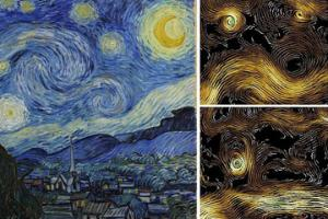 Are Climate Physicists Copying Van Gogh?