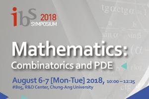 2018 IBS Symposium in Mathematics: Combinatorics and PDE