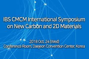IBS CMCM International Symposium on New Carbon and 2D Materials