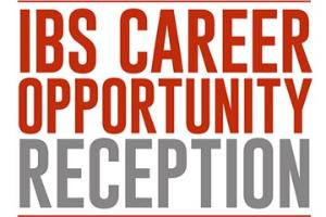 IBS Career Opportunity Reception at APS 2019