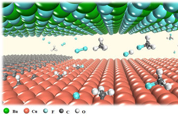 Fluorine Speeds Up Two-Dimensional Materials Growth