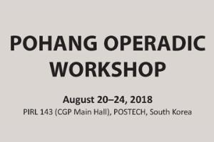 Pohang Operadic Workshop