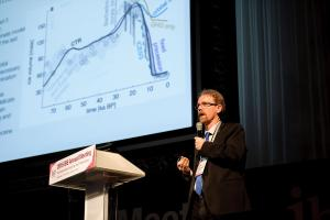 Axel Timmermann, Professor of the University of Hawaii at the public lecture session