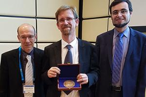 ICCP Director Axel Timmermann receives Milutin Milankovic Medal of the European Geosciences Union