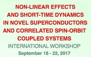 [Workshop] Non-Linear Effects and Short-Time Dynamics in Novel Superconductors and Correlated Spin-Orbit Coupled Systems