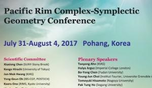 Pacific Rim Complex-Symplectic Geometry Conference