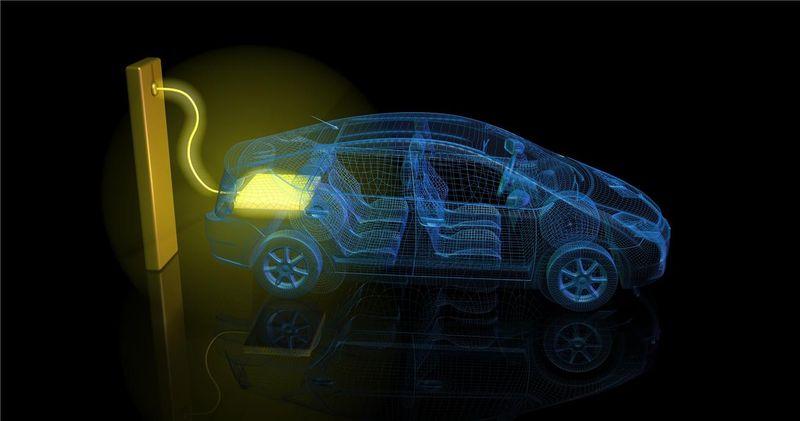 전기자동차 그래픽
