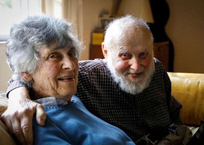 애슈킨 박사와 그의 아내 (사진: 뉴스핌)