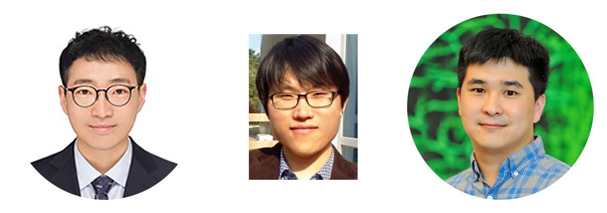 이번 연구의 공동 제1저자 왼쪽부터 김지훈 연구원, 이상규 연구위원, 정강훈 박사