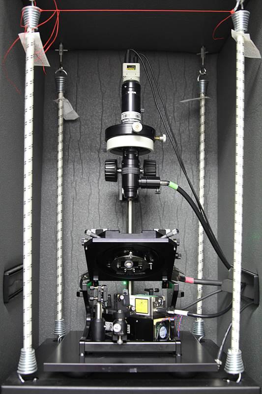 연구진이 개발한 광전도 원자간력 현미경의 모습