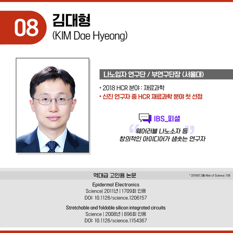 나노입자 연구단 부연구단장 김대형