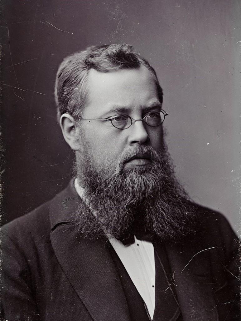 노르웨이의 수학자 소푸스 리의 이름을 따 만든 리군(Lie group)은 일종의 다양체로 대수적 연산과 미분가능성과 관련이 있다. (출처: L. Szaciński)