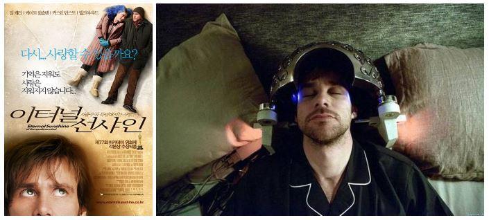 2005년 개봉한 영화 <이터널 선샤인>은 기억의 일부를 지우려는 조엘(짐 캐리扮)의 이야기로 시작한다. (출처: 포커스 피처스)