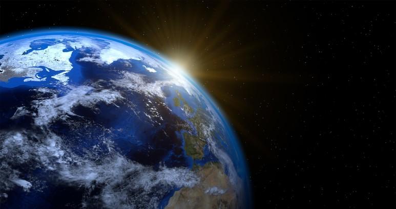 우리 가까이에 있는 가장 커다란 자석은 지구 자체다. (출처: Pixabay)