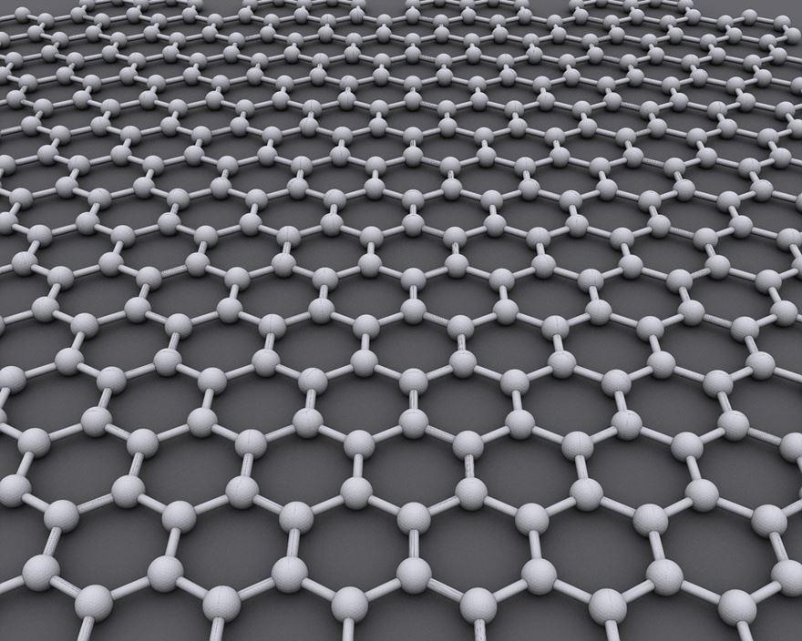 그래핀(사진)은 탄소 원자들이 육각형 격자를 이룬 형태인 2차원 물질이다. 이번 연구에서 제작된 육방정계 질화붕소는 붕소(B)와 질소(N) 원자가 육각형을 이룬 물질로, 그 분자구조가 그래핀과 유사하지만 하얀색을 띄어 '화이트 그래핀'으로도 불린다. (출처: Flickr)