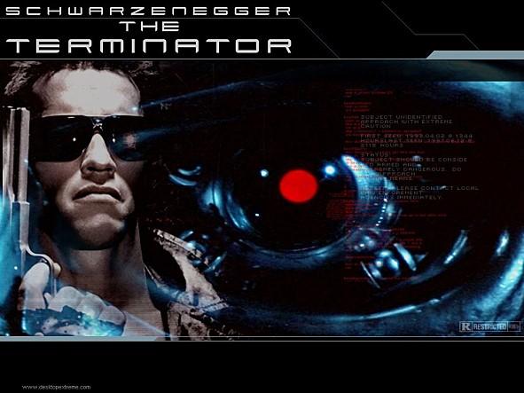 인간과 똑같은 모습을 가졌지만, 총에 맞아도 끄떡없는 사이보그 로봇 '터미네이터'는 공상과학영화에 등장한 대표적인 인공지능이다. (출처 : 롯데엔터테인먼트)