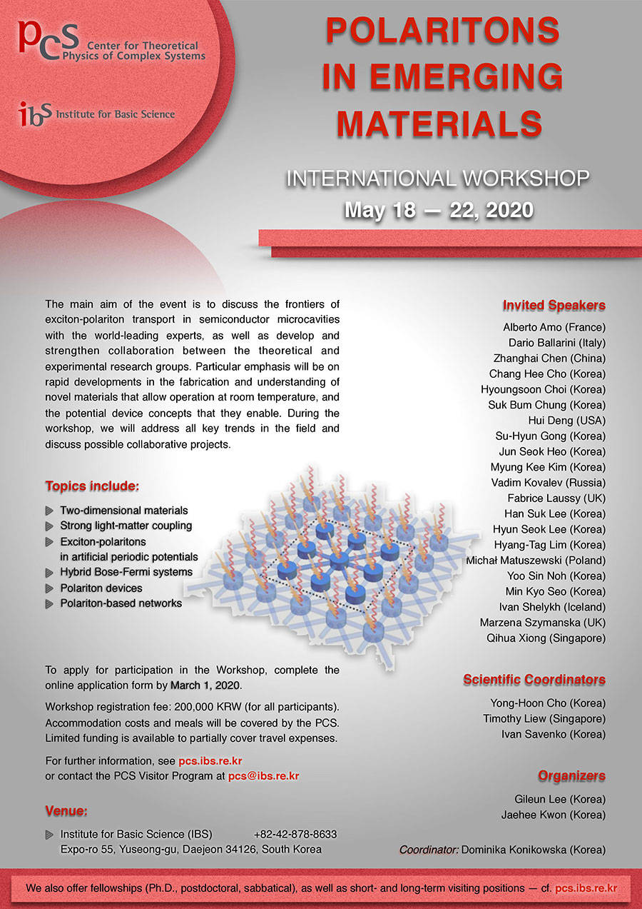 International Workshop Polaritons in Emerging Materials