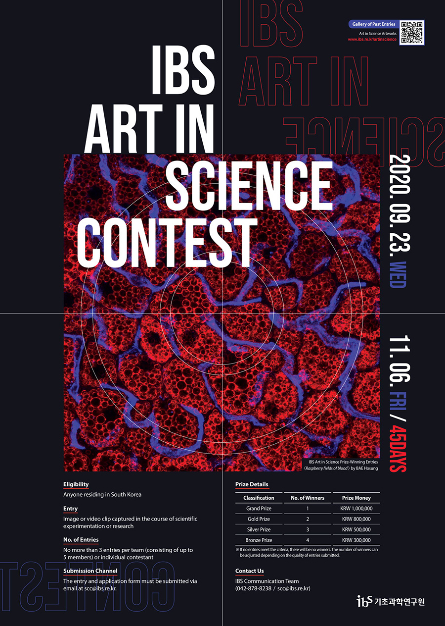 IBS Art in Science Contest