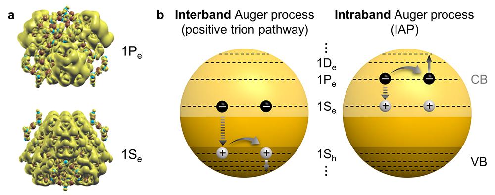 오비탈 전자 분포 형상과 전자 충돌에 의한 인트라밴드 오제현상