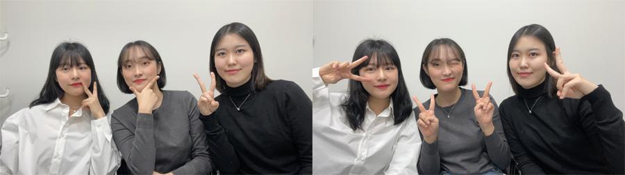 팀명_확쓰리(왼쪽부터 김예진,이주연,정유진)