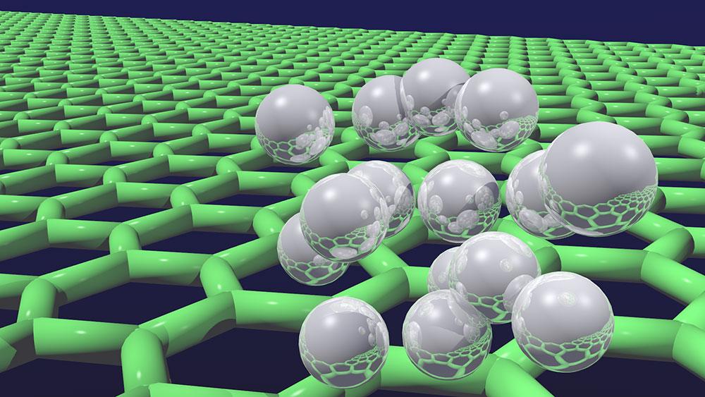 그래핀은 흑연의 한 층에서 떼어낸 2차원 물질로 전기‧화학적 특성이 우수해 반도체 분야 '꿈의 신소재'로 불린다. 하지만 아직까지 두께에 따른 습윤 특성 변화 등 물성 차이가 면밀히 밝혀지진 않았다. (출처: Flickr)
