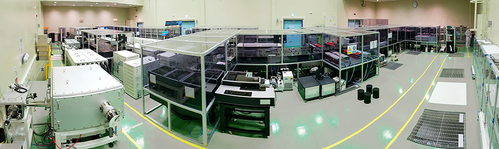 Figure 2. Panoramic view of the CoReLS PW laser.