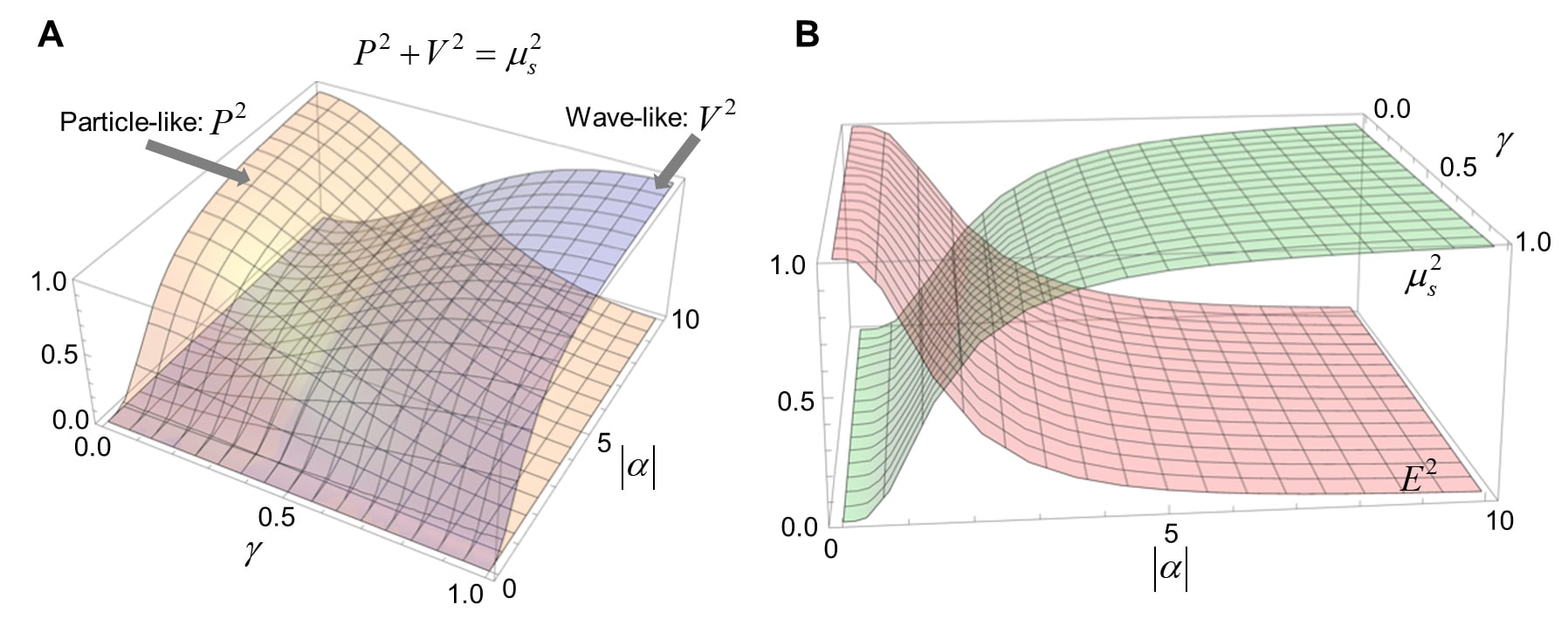 Quantitative complementarity relation of wave-particle duality.