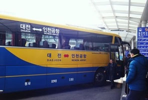 Bus to Daejeon